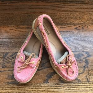 Like new Sperry top-siders size 6